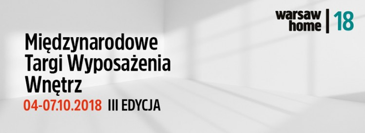 warsaw home expo 2018 plakat